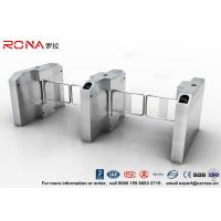 Wholesale Fingerprint Entrance Swing Barrier Gate Stainless Steel For Handicap Channel from china suppliers