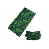 Wholesale Dark Green UV Buff Headwear 100% Microfiber Polyester 50 * 25 Cm For Climbing from china suppliers