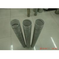 Wholesale Customized Hole Punching / Perforated Metal Spiral Welded Pipe For Water Filtration from china suppliers