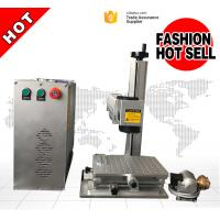 Quality Red Light Pointer 20W Portable Laser Marking Machine For SS Black Color Marking for sale