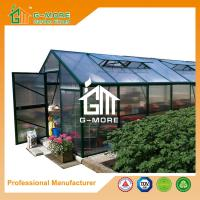 Wholesale 606x306x244cm Green Color Super Strong Polycarbonate Greenhouse from china suppliers