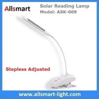 Wholesale S-shaped White Students Solar Powered Reading Desk Lamp With Clamp Clip Snakelike Led Table Lights Bedroom Nightlight from china suppliers