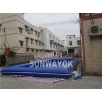 Wholesale Blue Portable Inflatable Swimming Pools 0.9mm PVC for Water Ball from china suppliers