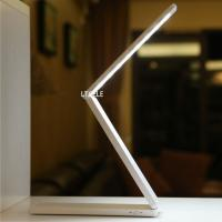 Wholesale Super Bright 48 LED Table Lamp Desk Lamps For Reading, Aluminum Modern Art Foldable Study Table Lights luminaria de mesa from china suppliers