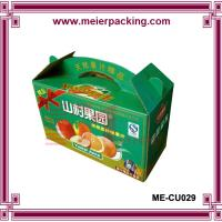 Wholesale Wholesale corrugated fresh vegetable packaging carton ME-CU029 from china suppliers