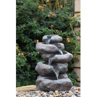 Quality Contemporary Garden Fountains , Landscape Water Fountains With Lights for sale
