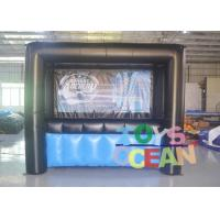 Wholesale Custom Logo Inflatable Interactive Games Archery Hover Ball Shooting Gallery from china suppliers