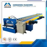 Wholesale Metal Floor Deck Roll Forming Machine Capacity 8-10m/Min , 12 Month Warranty from china suppliers
