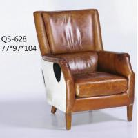 Wholesale QS-628;  modern genuine leather sofa, club furniture,office furniture, living room furniture, China sofa from china suppliers