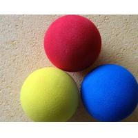 Wholesale Non Toxic Tasteless Polyethylene Colored Foam Balls Environmentally Friendly Biodegradable from china suppliers