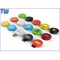 Buy cheap Tiny Twister Round 64GB Flash Drives Customized Branding USB Device from wholesalers