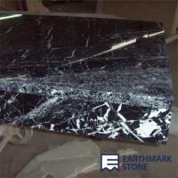Buy cheap Nero Marquina Black Marble Kitchen Countertops from wholesalers