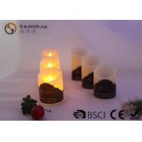 Quality Lovely Electric Flameless Led Candles By 2*AA Battery Operated for sale