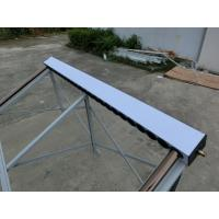 Quality Solar Thermal Flat Plate Solar Panels , Solar Panel Water Heater With Adjustable Tubes for sale