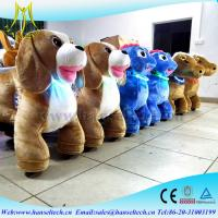 Wholesale Hansel rich toys rocking horseamusment rides for saleanimal dog rides coin operated animal scooter ride for sale from china suppliers