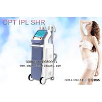 Wholesale 2 Handpieces OPT IPL Hair Removal Machine / Efficient IPL SHR Super Hair Removal from china suppliers