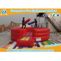 Wholesale Customized Size Inflatable Battle Arena Inflatable Fighting Playground from china suppliers