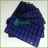 Wholesale EVA / PCB Monocrystalline Silicon Solar Panel 8V 200mA BV / ISO9001 from china suppliers