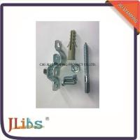 Quality Customized Galvanized Steel Industrial Pipe Clamps With Plastic Anchor for sale