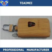 Wholesale Wooden / Black Roewe Automobile Leather Key Holder 100*60*25mm from china suppliers