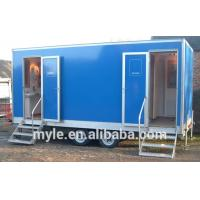 Wholesale Chinese professional manufacturer of Fiberglass trailer toilet outdoor events mobile porta from china suppliers