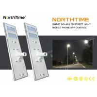 Wholesale 90W IP65 Solar LED Street Light with Phone App Control System from china suppliers