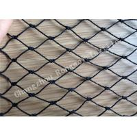 Wholesale UV Treated HDPE / PE Raschel Knotted Fishing Netting / Monofilament Fish Nets from china suppliers