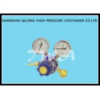 Wholesale High And Low Pressure Gauge Nitrogen Cylinder Regulator , Gas Cylinder Pressure Regulator from china suppliers