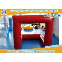 Wholesale CE Inflatable Sport Games Football Goal Post Air Sealed With Customized Size from china suppliers