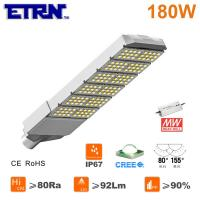 Wholesale ETRN Brand CREE LED Meanwell Power Supply 180W LED Streetlights Garden Road Square Parking from china suppliers