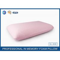 Quality 45D Bread Polyurethane Traditional Memory Foam Pillow With Washable Zippered Cover for sale
