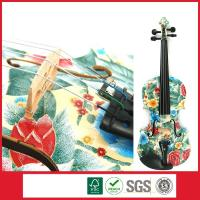 Wholesale Handmade Artistic Solid Wood Traditional Acoustic Violin Outfit 4/4 from china suppliers