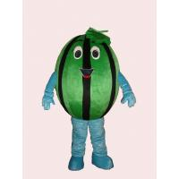 Wholesale handmade lovely watermelon mascot cartoon cosplay fruit costumes for kids and adults from china suppliers