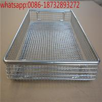 Wholesale Cheap!!!! stainless steel Hospital special disinfect wire mesh basket,304 wire mesh basket hospital disinfect basket per from china suppliers