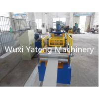 Wholesale Customerized Industrial Gutter Roll Forming Machine For Rain Water 0.4 - 0.8mm Thickness from china suppliers