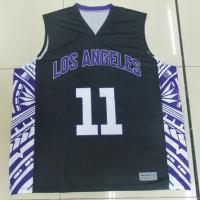 Wholesale Plus Size Sublimated Basketball Uniforms Sleeveless For Sportsman from china suppliers