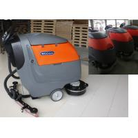 Wholesale Plastic Handle Battery Powered Floor Sweeper Scrubber , Epoxy Floor Cleaning Machine from china suppliers