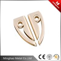 Wholesale Light gold metal bag strap buckle,zinc alloy bag accessories metal buckle from china suppliers