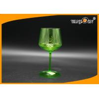 Wholesale Acrylic 500cc Plastic Drink Bottles Green Champagne Beer Juice Cup for KTV Bars from china suppliers
