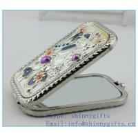 Wholesale Fashion protable decorative mirror for ladies from china suppliers