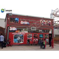 Wholesale 5D Cinema 5D Movie Theater Including The Outside Cabin Electronic Dynamic System from china suppliers