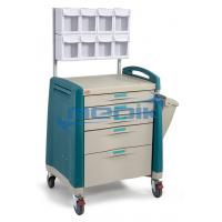 Quality Model YA-TRA02   Anesthesia Cart With Multi Bin Organizer for sale