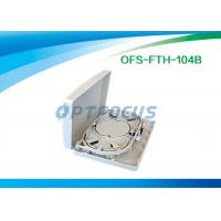 Wholesale Small Wall Mount Fiber Termination Box 4 Core Lightweight 225×125×40 mm from china suppliers