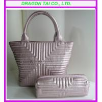 Wholesale lady handbags & Cosmetic bags combination from china suppliers