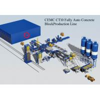 Wholesale Brick Machinery Plant Concrete Block Making Machine with PLC Control System Fully Automatic from china suppliers