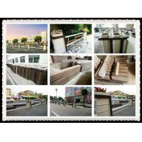 Wholesale WPC street rail project from china suppliers