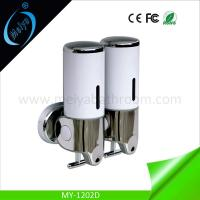 Buy cheap hot sale double manual sanitizer dispenser supplier from wholesalers