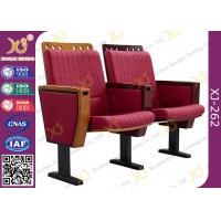 Wholesale Molded Foam Low Back Stadium Theater Seating With MDF Writing Pad Spring Return​ from china suppliers