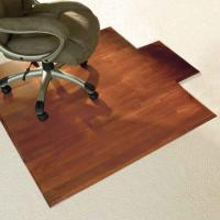 Wholesale Custom Rolling Wood Floor Chair Mat Floor Protection Mats , Eco-Friendly PVC Sheet from china suppliers