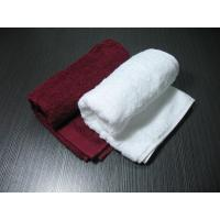 Wholesale Custom Made Bordeaux Hotel Supply Towels Embroidery 350gsm - 850gsm from china suppliers